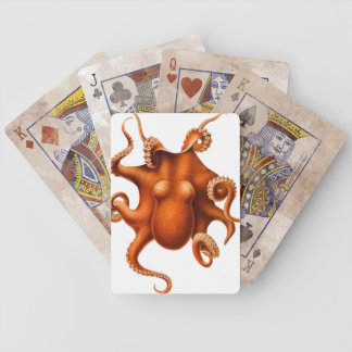 Octopus Illustration Playing Cards