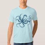 octopus print t-shirts