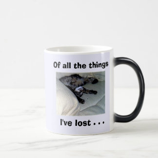 Of all the things I've lost . . . Morphing Mug