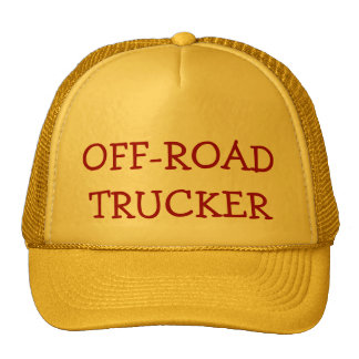OFF-ROAD TRUCKER HAT