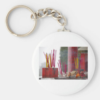 Offerings Basic Round Button Key Ring
