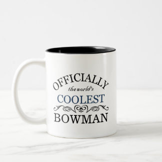 Officially the world's coolest Bowman Two-Tone Mug