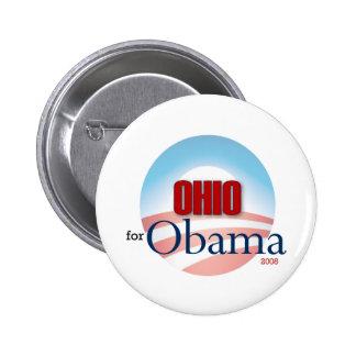 OHIO for Obama 6 Cm Round Badge