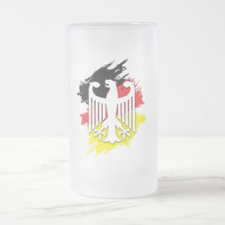 Oktoberfest Frosted Glass Mug