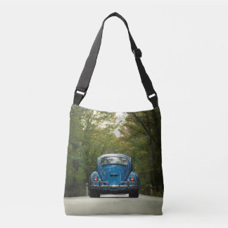 Old Car Blue Bug Photo All Over Tote Tote Bag