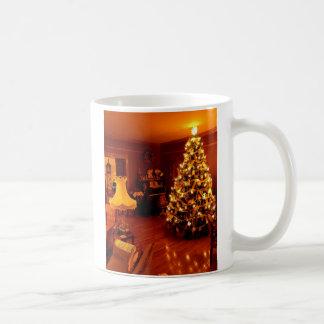 old fashioned chistmas, Old Fashioned Christmas Basic White Mug