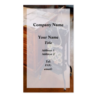 Old Fashioned Dictaphone Pack Of Standard Business Cards