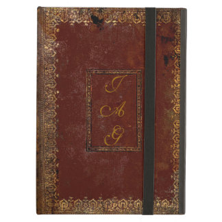 Old Leather Victorian Style Book Cover iPad Air Case