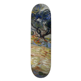 Olive Trees by Vincent Van Gogh 21.3 Cm Mini Skateboard Deck