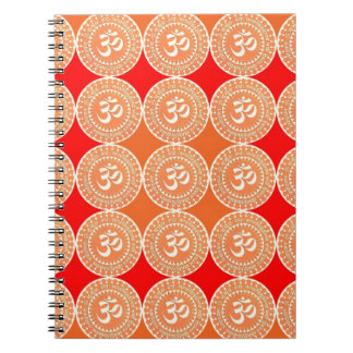 OM MANTRA -  OmMantra ALL OVER Spiral Note Book