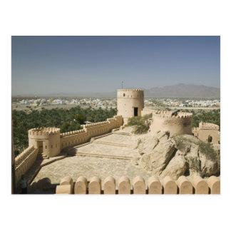 Oman, The Batinah Plain, Nakhal. Nakhal Fort, at Postcard