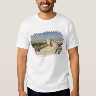 Oman, The Batinah Plain, Nakhal. Nakhal Fort, at T-shirt