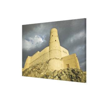 Oman, Western Hajar Mountains, Bahla. Bahla Fort Gallery Wrap Canvas