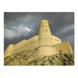 Oman, Western Hajar Mountains, Bahla. Bahla Fort Postcard