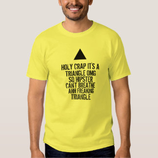 OMG Hipster Triangle Shirts