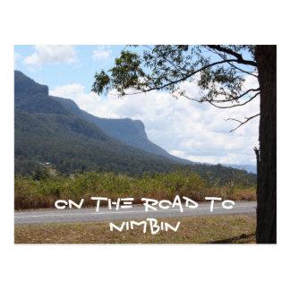 on the road to Nimbin Postcard