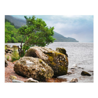 On the shores of Loch Ness Postcard