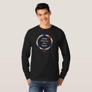One America Men's Basic Long Sleeve T-Shirt