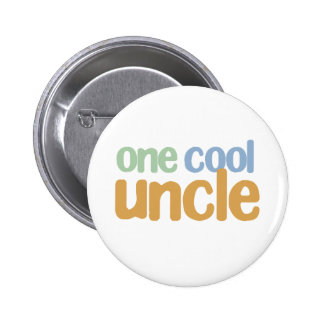 One Cool Uncle T-Shirt 6 Cm Round Badge