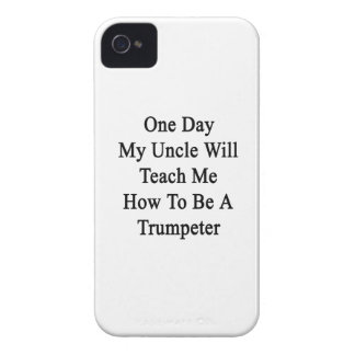 One Day My Uncle Will Teach Me How To Be A Trumpet iPhone 4 Case