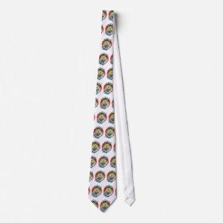 One-Eyed Hannya Tie