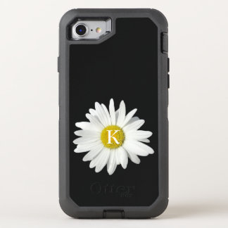 One Fresh Daisy and Initial OtterBox Defender iPhone 7 Case