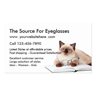 Online Optical Store Pack Of Standard Business Cards