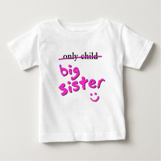 Only Child / Big Sister T Shirts