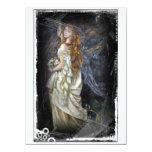 Ophelia in White 14 Cm X 19 Cm Invitation Card