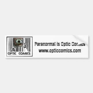 Optic Comics Bumper Sticker