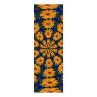 Orange African Daisy, Bookmark Pack Of Skinny Business Cards