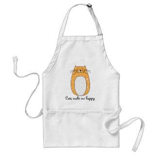 'Orange Cat' Apron