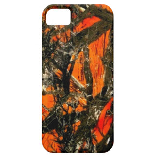 """Orange Tree Branch Camouflage"" iPhone 5 Covers"