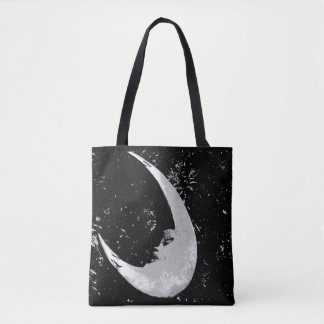 Orb of Night Moon Tote Bag