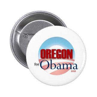OREGON for Obama 6 Cm Round Badge