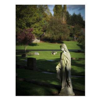 Oregon, Lake Oswego, Oswego Pioneer Cemetery Postcard