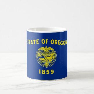 oregon state flag united america republic symbol basic white mug