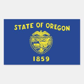 Oregon State Flag, United States Rectangular Sticker