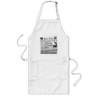 Organist sentenced apron (American spelling)