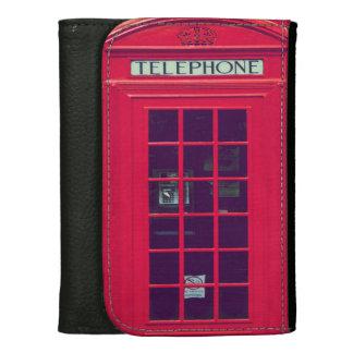 Original british phone box women's wallet