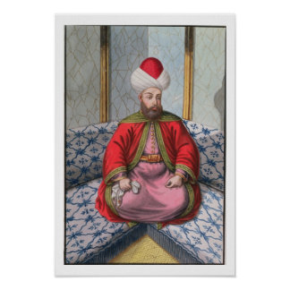 Orkhan (1288-1359), Sultan 1326-59, from 'A Series Poster