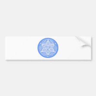 Ornate Star of David Bumper Sticker