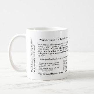 Orthopaedic jokes mug