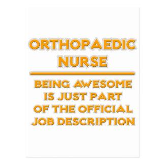 Orthopaedic Nurse ..  Job Description Postcard