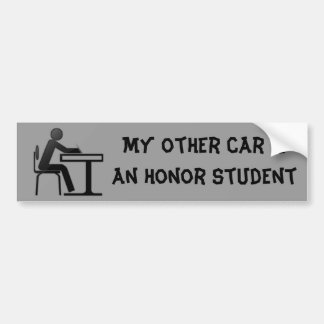 Other honor student bumper sticker