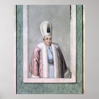 Othman (Osman) II (1603-22) Sultan 1618-22, from ' Poster