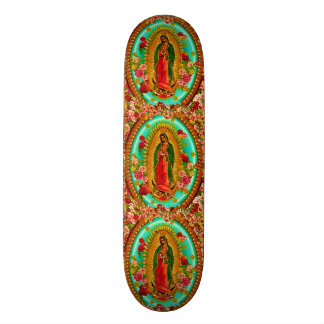 Our Lady Guadalupe Mexican Saint Virgin Mary Custom Skateboard