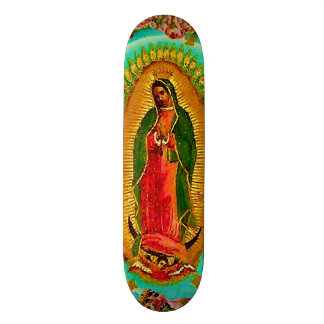Our Lady Guadalupe Mexican Saint Virgin Mary Skate Decks
