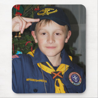 Our Little Boy Scout Mouse Pad