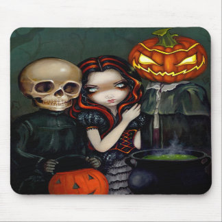 """Out Trick-or-Treating"" Mousepad"